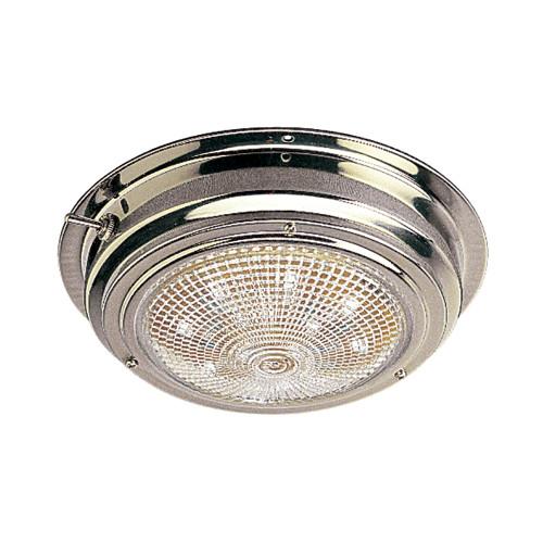 "Sea-Dog Stainless Steel LED Dome Light - 5"" Lens"