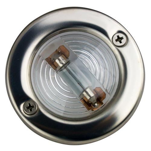 Sea-Dog Stainless Steel Round Transom Light