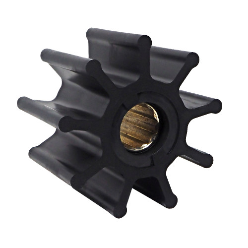 Albin Pump Premium Impeller Kit 95 x 25 x 63mm - 9 Blade - Spline Insert