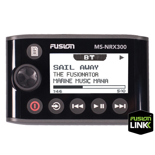 FUSION MS-NRX300 Remote Control - NMEA 2000 Wired