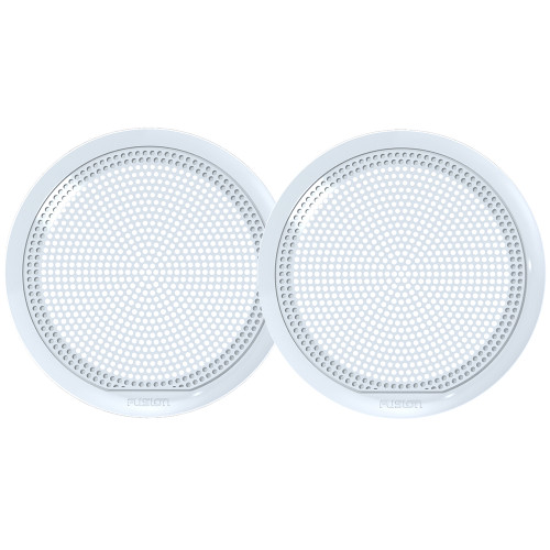 "FUSION EL-X651W 6.5"" Classic Grill Covers - White f/ EL Series Speakers"