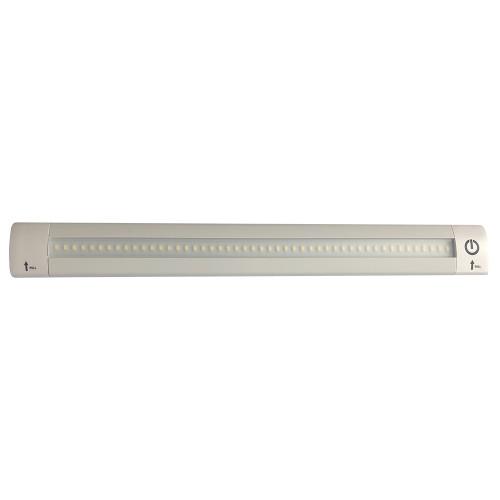 "Lunasea LED Light Bar - Built-In Dimmer, Adjustable Linear Angle, 12"" Length, 24VDC - Warm White"