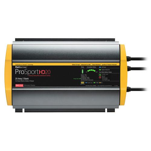 ProMariner ProSportHD 20 Global Gen 4 - 20 Amp - 2 Bank Battery Charger