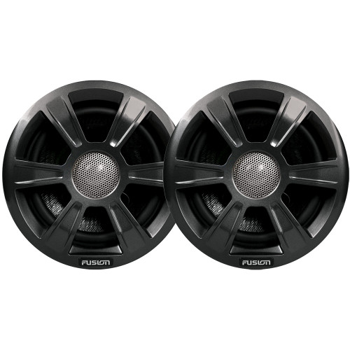 FUSION MS-FR7GSP Grill Covers - Grey Spoke Sport Style f/FR-Series Speakers