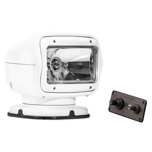 Golight Radioray GT Series Permanent Mount - White Halogen - Hard Wired Dash Mount Remote