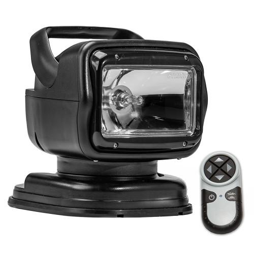 Golight Radioray GT Series Portable Mount - Black Halogen - Wireless Handheld Remote Magnetic Shoe Mount