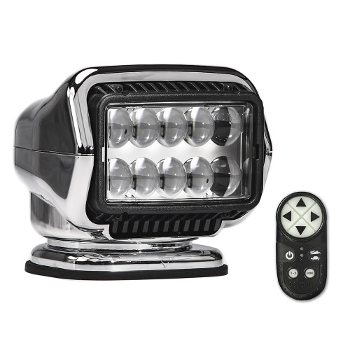 Golight Stryker ST Series Portable Magnetic Base Chrome LED w/Wireless Handheld Remote