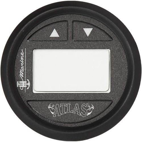 """T-H Marine ATLAS Hydraulic Gauge Kit f/4""""  8"""" ATLAS Jack Plate - Black Bezel"""