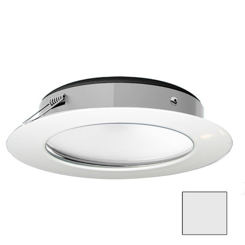 i2Systems Apeiron Pro XL A526 - 6W Spring Mount Light - Cool White - White Finish