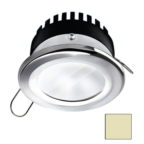 i2Systems Apeiron A506 6W Spring Mount Light - Round - Warm White - Polished Chrome Finish
