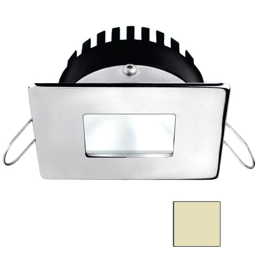 i2Systems Apeiron A506 6W Spring Mount Light - Square/Square - Warm White - Polished Chrome Finish