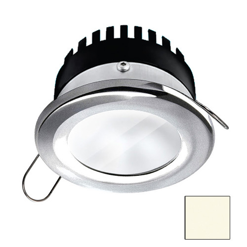 i2Systems Apeiron PRO A506 - 6W Spring Mount Light - Round - Neutral White - Brushed Nickel Finish