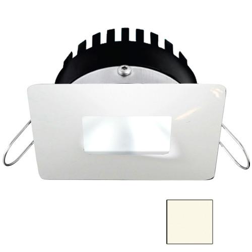 i2Systems Apeiron PRO A506 - 6W Spring Mount Light - Square/Square - Neutral White - White Finish
