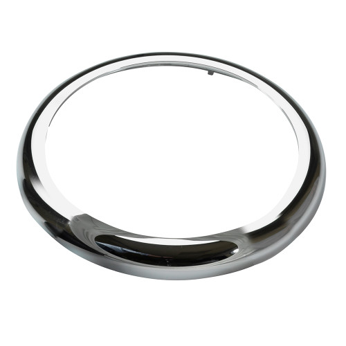 VDO Marine 110mm ViewLine Bezel - Round - Chrome