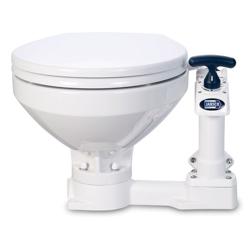 Jabsco Manual Marine Toilet - Regular Bowl