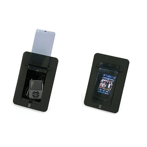 Poly-Planar Spa Side Smartphone Enclosure w\/Door - Black