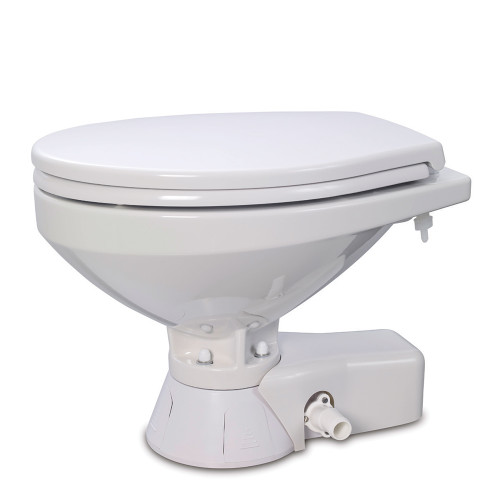 Jabsco Quiet Flush Freshwater Toilet - Compact Bowl - 24V