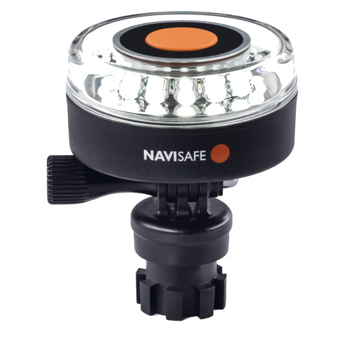 Navisafe Navilight All-White 5 Mode 360 2NM w/Navimount Base