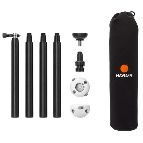 Navisafe Navimount Pole Pack Includes Pole & Mounts (Lights Not Included)