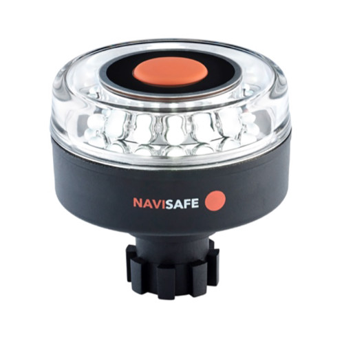 Navisafe Navilight All-White 5 Mode 360 2NM w/Navibolt Base