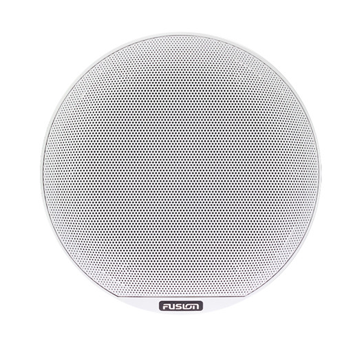 """FUSION SG-X88B 8.8"""" Signature Series Classic Grille Cover - White f/SG Series Speakers"""