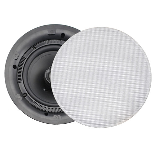 FUSION MS-CL602 Flush Mount Interior Ceiling Speakers (Pair) White
