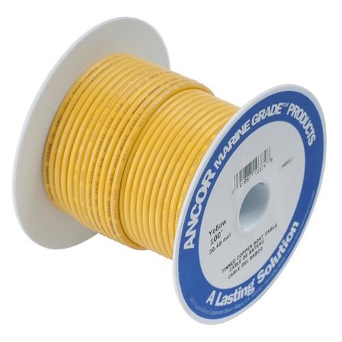 Ancor #10 Yellow 25' Spool Tinned Copper