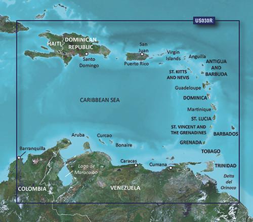 Garmin Hxus030r G3 Micro Sd Southeast Caribbean