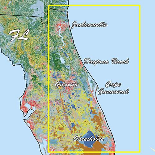 Garmin Florida East Pen Standard Mapping Professional