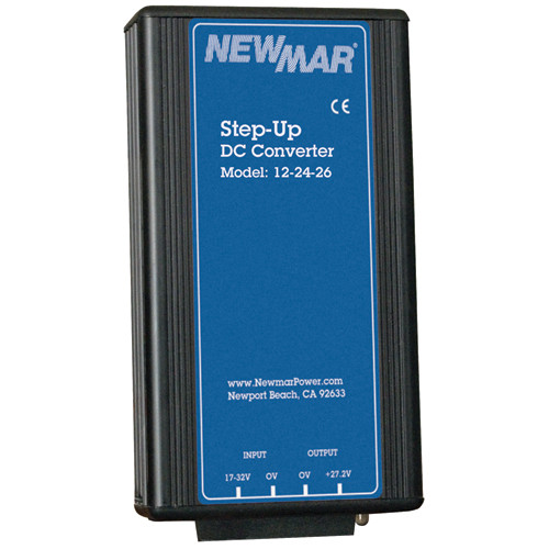 Newmar 12-24-25 Step Up Dc-dc Converter 25 Amp Conitnuos