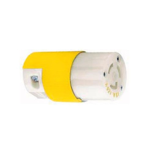 Hubbell Hbl47cm29c 15a 125v Locking Connector Body