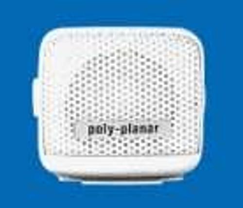 "Polyplanar Mb-21 Spkr White 2 1/2"""" Vhf Remote Speaker"