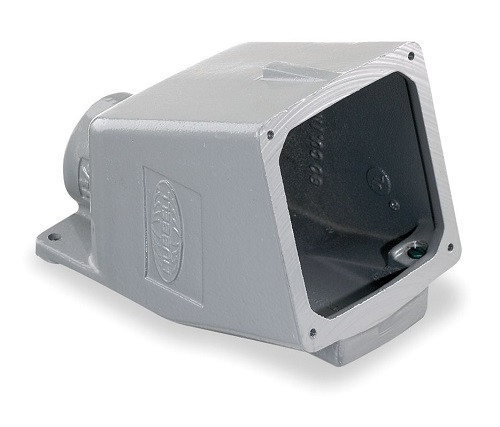 Hubbell Bb1001w 15 Degree Metallic Back Box For 100a