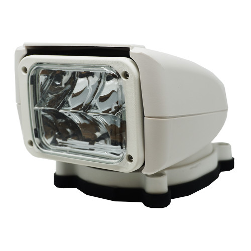 Acr Rcl85 White Led Spotlight With Wireless Hand Remote 240,000 Candela 12/24v