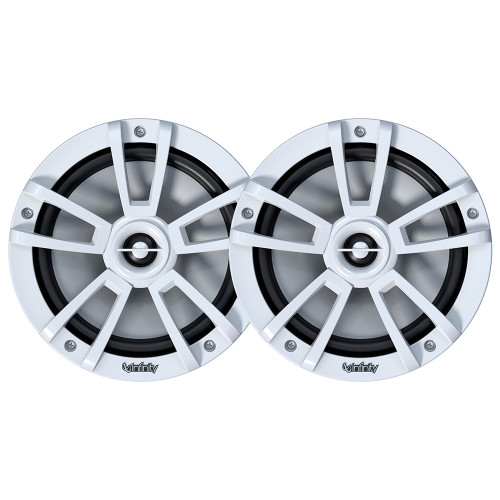 """Infinity Inf822mlw 8"""""""" Rgb Coaxial White Speaker"""