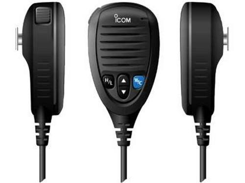 Icom Hm205b Black Speaker Microphone For M424g/506