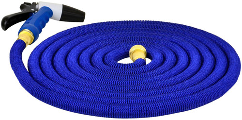 Hosecoil 50' Expandable Hose With Spray Nozzel