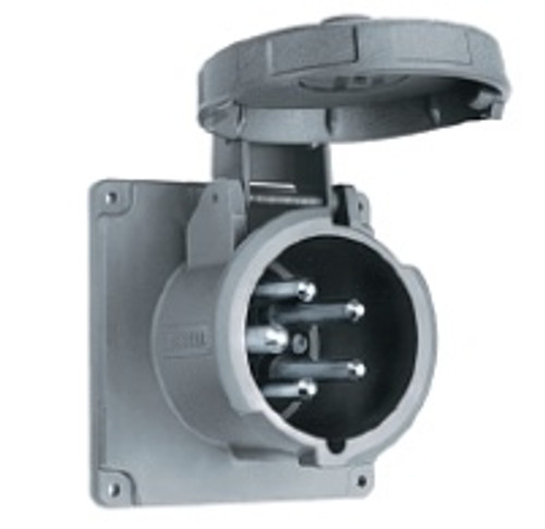 Hubbell M5100b9r 100a 30y 120/208v Inlet