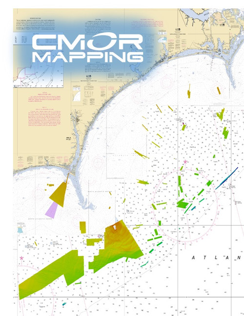 Cmor Mapping Gtcl001r Georgetown Cape Lookout Raymar