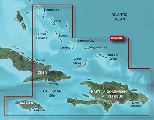 Garmin Hxus029r G3 Micro Sd Souther Bahamas