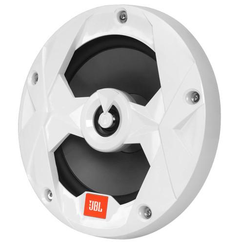 """Jbl Ms8lw 8"""""""" Coaxial Rgb White Speaker"""