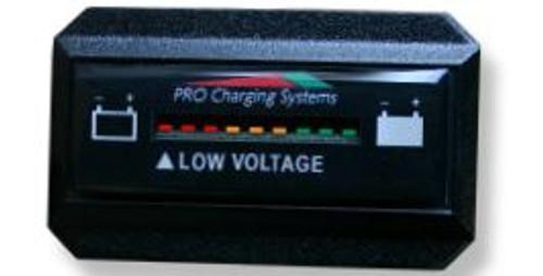 Pro Charging Eagle Performance Battery Fuel Gauge 48v Rectangle Vertical