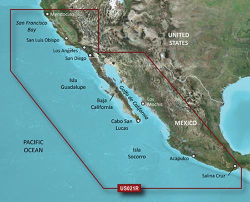Garmin Vus021r G3 Vision California-mexico