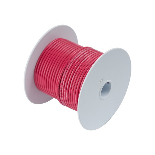 Ancor #4 Red 100' Spool Tinned Cooper