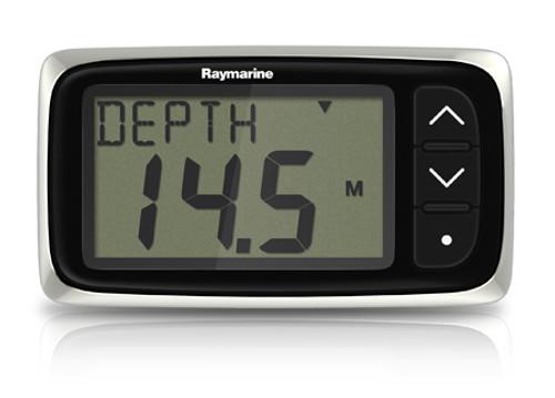 Raymarine I40 Depth System With Transom Mount