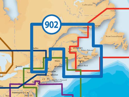 Navionics Msd/902p-2 Platinum Nova Scotia-st Lawrence River