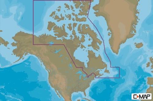 C-map Na-m021 Max N+ Microsd Canada North And East