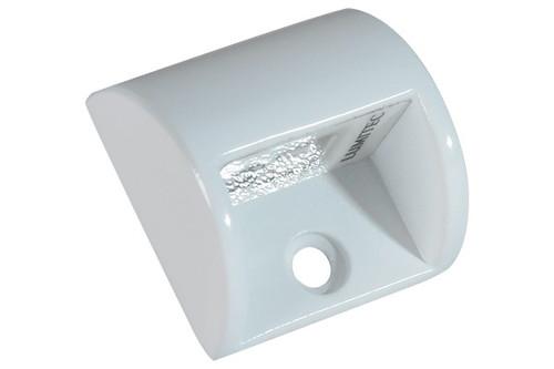 Lumitec Andros Courtesy/accent Blue Led Light White Housing 12v 4 Pack