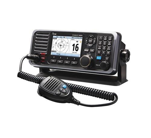 Icom M605 25w Vhf Rear Mic Connector