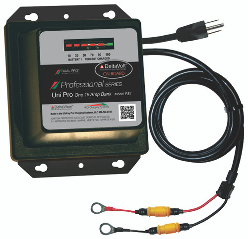 Dual Pro Ps1 Battery Charger 1 Bank 15 Amps
